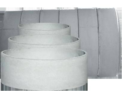 Anéis e tubos de Concreto