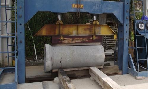 Controle de Qualidade Artefatos de concreto-aduelas e anés de concreto