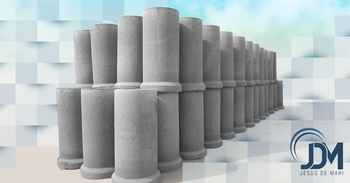 Tubos de concreto Simples Jesus de Mari